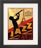 Jazz in Paris, 1970 Pster por Conrad Knutsen