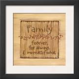 Family Prints by Karen Tribett