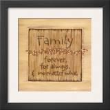 Family Prints by Karen Tribett