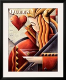 Martini Queen Prints by Michael L. Kungl