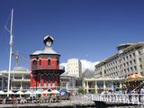 Clock Tower, the Waterfront, Cape Town, South Africa, Africa Photographic Print by Peter Groenendijk