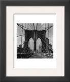 Brooklyn Bridge Posters by Walter Gritsik