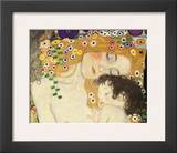 Mother and Child (detail from The Three Ages of Woman), c.1905 Posters by Gustav Klimt