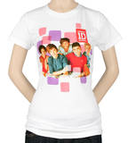 Juniors: 1D - Squares T-Shirt