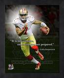 Colin Kaepernick, San Francisco 49ers ProQuote Framed Memorabilia