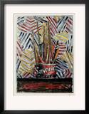 Savarin Art by Jasper Johns