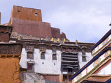Roof Tops at Palkhor Chode Monastery, Gyantse, Tibet, China, Asia Photographic Print by Nancy Brown