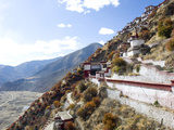 Drigung Thei Monastery in Tibet, China, Asia Photographic Print by Nancy Brown