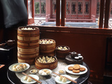 Dim Sum in the Famed Teahouse in Shanghai, China, Asia Photographic Print by Luca Tettoni