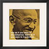Gandhi: Live and Learn Poster