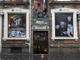 Beatles Shop, Mathew Street, Liverpool, Merseyside, England, United Kingdom, Europe Photographic Print by Wendy Connett