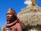 Himba Girl, Kaokoveld, Namibia, Africa Photographic Print by Nico Tondini