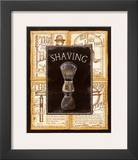 Grooming Shaving Prints by Charlene Audrey