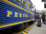 Peru Rail Train, Peru, South America, Latin America Photographic Print by Simon Montgomery