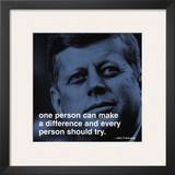 JFK: Make a Difference Print