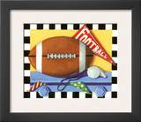 Football Print by Kathy Middlebrook