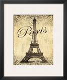 Paris Poster by Todd Williams