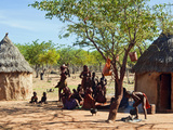 Himba Village, Kaokoveld, Namibia, Africa Photographic Print by Nico Tondini