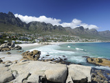 The Twelve Apostles, Camps Bay, Cape Town, Cape Province, South Africa, Africa Photographic Print by Peter Groenendijk