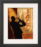 Jazz in New York, 1962 Posters por Conrad Knutsen
