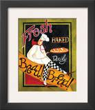Fresh Baked Bread Print by Jennifer Garant