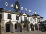 Sandeman Port Wine Lodge, Vila Nova De Gaia, Porto, Douro, Portugal, Europe Photographic Print by Stuart Forster