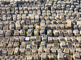 Jewish Cemetery, Mount of Olives, Jerusalem, Israel, Middle East Photographic Print by Gavin Hellier