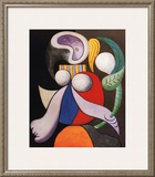 Femme a La Fleur, c.1932 Print by Pablo Picasso
