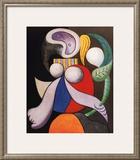 Femme a La Fleur, c.1932 Print by Pablo Picasso