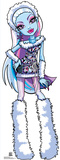 Abbey Bominable - Monster High Lifesize Standup Poster Stand Up