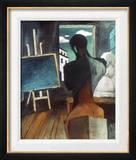 The Philosopher And The Poet Framed Giclee Print by Giorgio De Chirico