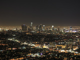 Downtown, Hollywood at Night, Los Angeles, California, United States of America, North America Photographic Print by Wendy Connett