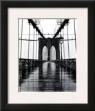 Brooklyn Bridge Poster by Christopher Bliss