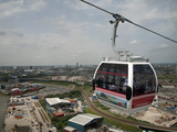 View from a Cable Car During the Launch of the Emirates Air Line, London, England, United Kingdom Photographic Print by Adina Tovy