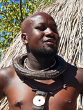 Himba Man, Kaokoveld, Namibia, Africa Photographic Print by Nico Tondini