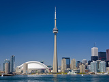 City Skyline Showing Cn Tower, Toronto, Ontario, Canada, North America Photographic Print by Stuart Dee