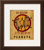 Hot Roasted Peanuts Prints by Louise Max