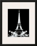 Eiffel Tower at Night Prints by Cyndi Schick