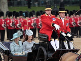 The Duchesses of Cornwall and Cambridge, Trooping Colour 2012, Queen&#39;s Bday Parade, London, England Photographic Print by Hans-Peter Merten