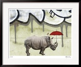 Riley Limited Edition Framed Print by M.J. Lew