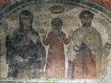 The Earliest Representation of San Gennaro (St Januarius), Catacombs of San Gennaro, Naples, Italy Photographic Print by Oliviero Olivieri
