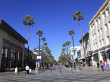 Third Street Promenade, Santa Monica, Los Angeles, California, USA, North America Photographic Print by Wendy Connett