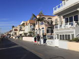The Strand, Hermosa Beach, Los Angeles, California, United States of America, North America Photographic Print by Wendy Connett