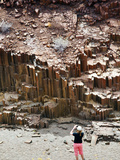 Valley of the Organ Pipes, Damaraland, Kunene Region, Namibia, Africa Photographic Print by Nico Tondini