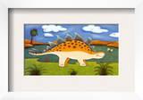 Steggy the Stegosaurus Poster by Sophie Harding
