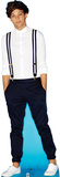Louis - 1 Direction Lifesize Standup Cardboard Cutouts