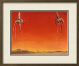 The Elephants, c.1948 Poster by Salvador Dalí