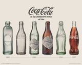 Coca-Cola- Evolution Mini Poster Print