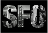 SFO San Francisco Images Archival Photo Prints