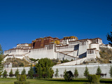 The Potala Palace, UNESCO World Heritage Site, Lhasa, Tibet, China, Asia Photographic Print by Nancy Brown